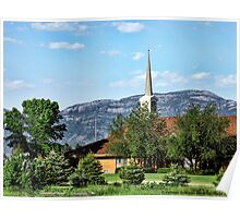 Little Church in the Mountains Poster