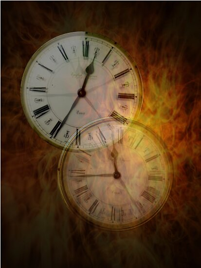 Burning time.. by Susie Hawkins