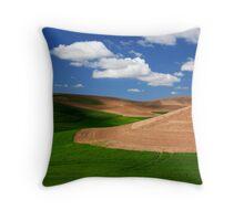 Palouse Field Throw Pillow