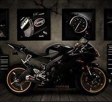 Yamaha R6 by Nathan Jermyn