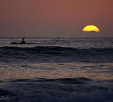 Twilight Paddle by Kirstyshots