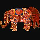 &quot;Two Persian elephants&quot; by Mary Taylor