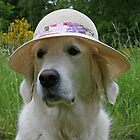 Lovely lady with summerhat by Trine
