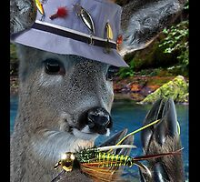 YOUNG BUCK FIRMLY TIES TASTY NYMPH ANTICIPATING SERIOUS WATERSPORT ACTION by DilettantO