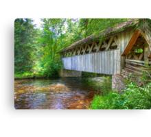 Covered Footbridge-2 Canvas Print