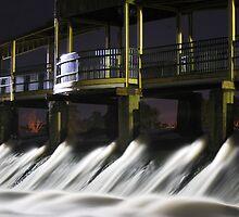Below the Dam by Victoria Jostes