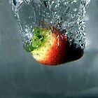 Strawberry splash by David Gray