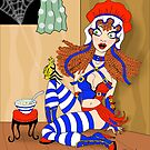 Little Miss Muffet by Patricia Anne McCarty-Tamayo