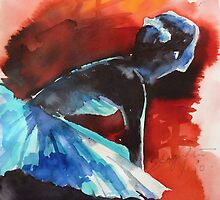 Ballerina in waiting  by shagufta