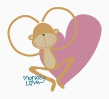 Monkey Love by xandiee