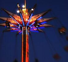 Skyrider at dusk by Terri-Anne Kingsley