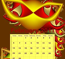calendar 2011: February by machandel