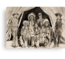 Doc Carver's Wild West Show Canvas Print
