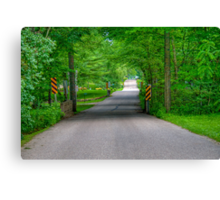 Pleasant Drive Canvas Print
