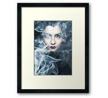 SMOKESCREEN 4 Framed Print