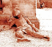 Fallen Soldier, Harewood House by lozzyrane