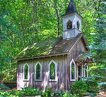Little Chapel in the Woods by ECH52
