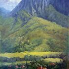 Ka' akuapa'au Mountain Peak by Norman Kelley