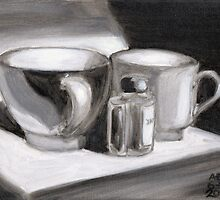 Ink and Cups by Amy-Elyse Neer