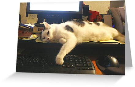 I'm Too Tired To Finish My Email!  by heatherfriedman