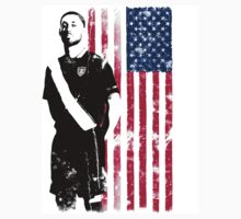 Dempsey with USA Flag T-Shirt