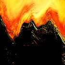 lava dragon.... abstract eruption by banrai