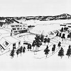 Modern Village by Heberto   G. Cavazoz
