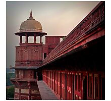 Stronghold - Agra Fort Photographic Print