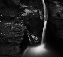 Runswick Waterfall by PaulBradley