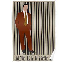 Joe Citizen Man about Town Poster