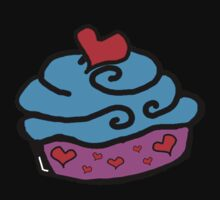 Cupcake of Love! by cherrytops