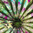 Alien &quot;Mother of Pearl&quot; Daisy (Abstract) by Jan Clarke