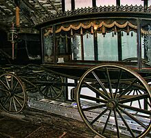 Victorian Hearse with Alloy ladder accessory. by Peter Ellison