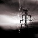 power to the grid  by DravenStudios