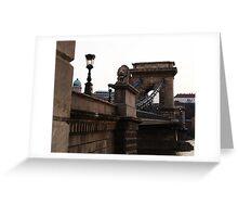 Lion Bridge Greeting Card