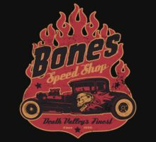 Bones Speed Shop by superiorgraphix