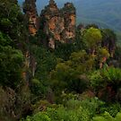 The Three Sisters, Katoomba. by Andy Newman