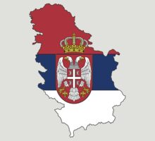 Zammuel's Country Series - Serbia (Blank) T-Shirt