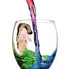 Rainbow In A Glass One by badkarma