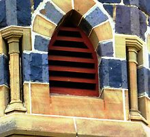 Belfry Window - United Church, Werribee by EdsMum