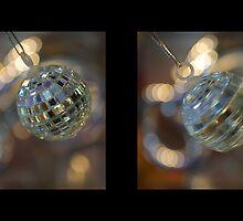 Shiny Disco Balls by Harvey Schiller