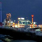 The Pier at Night     ^ by ctheworld
