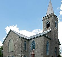 Saint Andrew's United Church, Martintown. 1910. by Mike Oxley