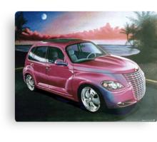 Custom PT Cruiser Metal Print