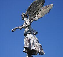 Garden Angel by Dave Godden