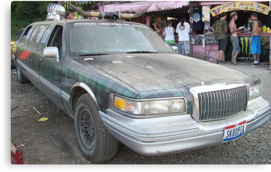 RedNeck Limo by WickedJuggalo