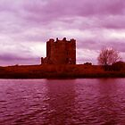 Enhanced Threave Castle Scotland by celticfae01