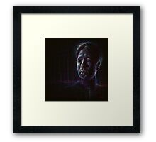 Fox Mulder Framed Print