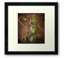 Memories are forever-COLLABORATION WITH ARTIST JD Framed Print
