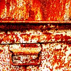 Rusty Old Trunk by Virginia Daniels